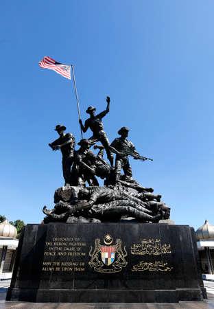 A general views Malaysia National Monument also known as Tugu Negara in Kuala Lumpur, February 25, 2018. Publikacyjne