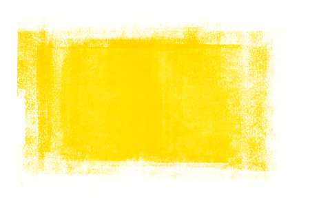 Light yellow color graphic brush strokes patches designs element effect background Stock Photo