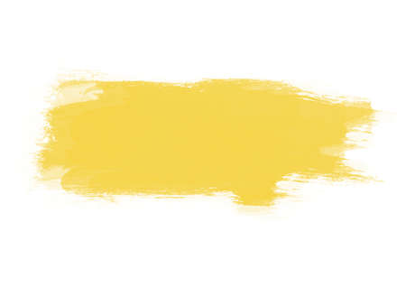 Yellow graphic color patches brush strokes effect background designs element