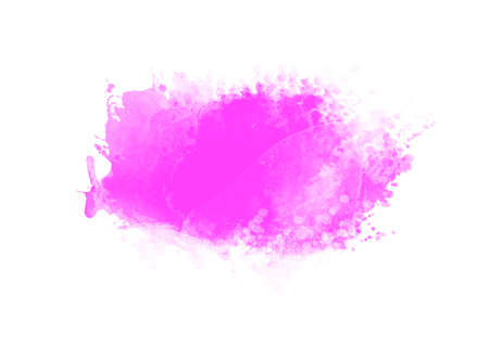 Purple water color patches graphic brush strokes effect background designs element