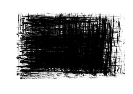 Black color patches graphic brush strokes effect background designs element