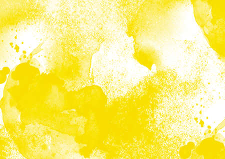 Yellow graphic color patches graphic brush strokes effect background designs element