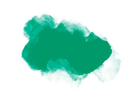 Green graphic color patches brush strokes effect background designs element