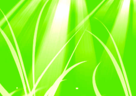 White graphic color lines strokes effect on light green background