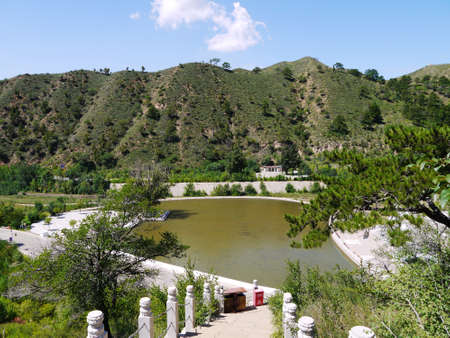 The Tibetan Buddhism in the deep mountains,