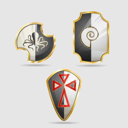 Shield of the Templar, icon - logo