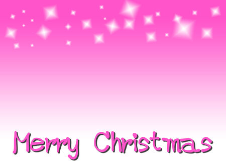 marry christmas: Marry Christmas with pink background