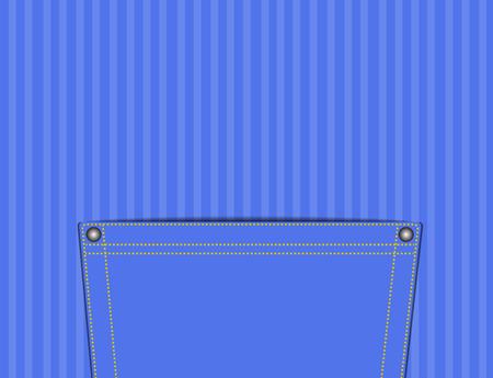 empty pocket: Vaciar el bolsillo con el concepto de que todo puede poner, vector e ilustraci�n Vectores
