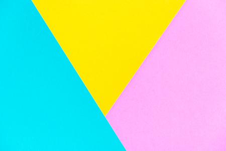 Abstrait trois tons de couleur avec la texture du papier, stytle fond moderne