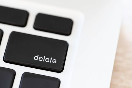 Delete button on keyboard of Laptop