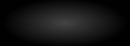 Carbon fibre texture banner background, New Technology abstract, vector illustration