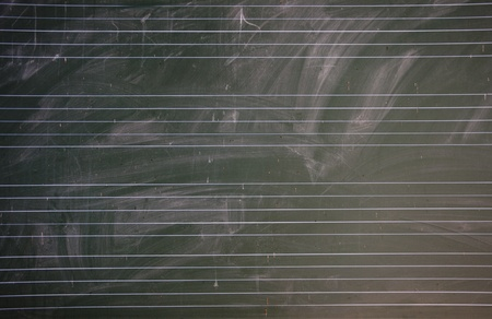 blankness: Read music blackboard