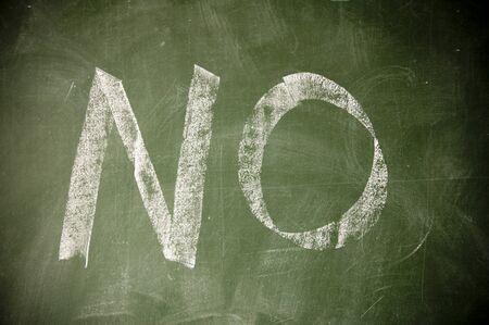 negate: no