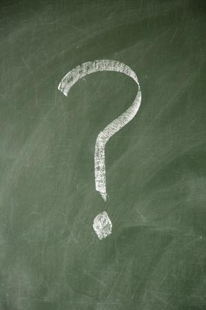 lacunae: question mark