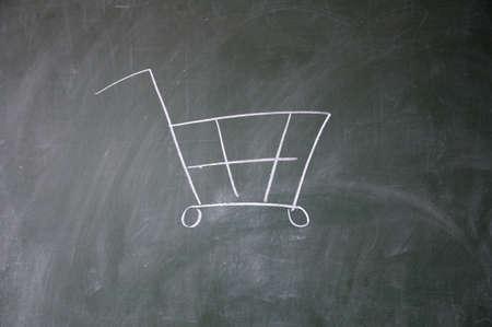 shopping cart Stock Photo - 11164360