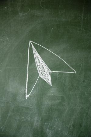 papierflugzeug: Paper Airplane Lizenzfreie Bilder