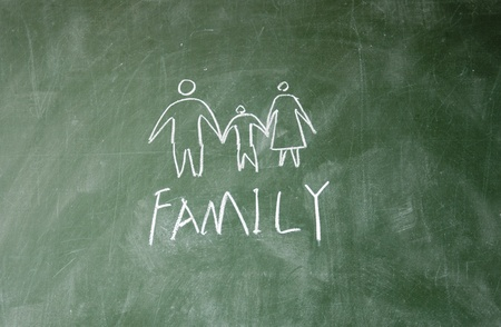 abstract Family symbol photo