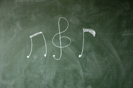 Music notation photo