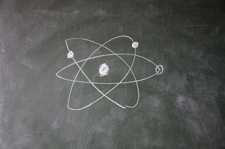 science sign drawn with chalk on blackboard Stock Photo - 12649503