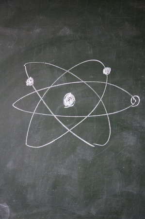 science sign drawn with chalk on blackboard Stock Photo - 12649454