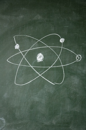 science sign drawn with chalk on blackboard Stock Photo - 12649518