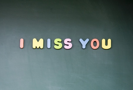 i beam: i miss you sign