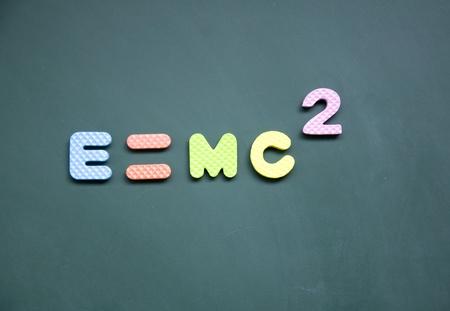 e=mc2 sign photo