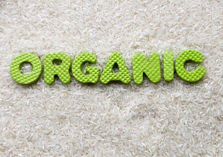 organic title photo