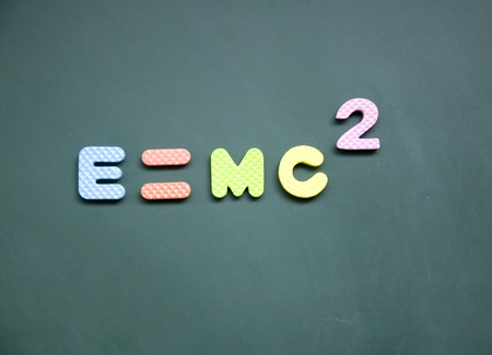 e=mc2 sign photo
