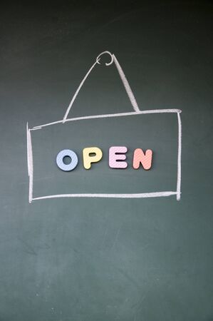 open sign Stock Photo - 12829191