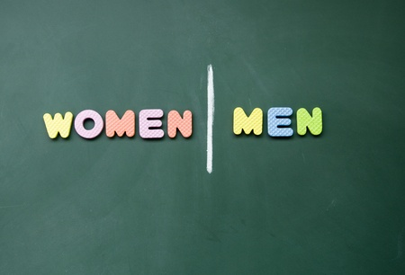 women and men sign Stock Photo - 12829033