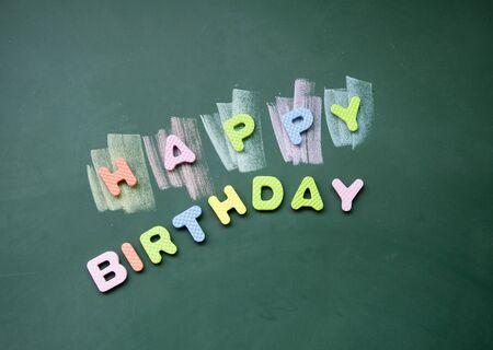 happy birthday title photo