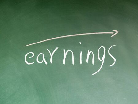 earnings symbol photo