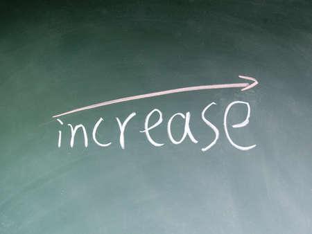 increase symbol photo