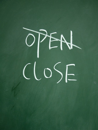 detriment: open and close choice