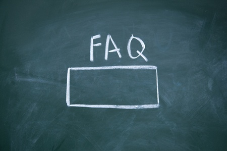 FAQ search title Stock Photo - 13011590