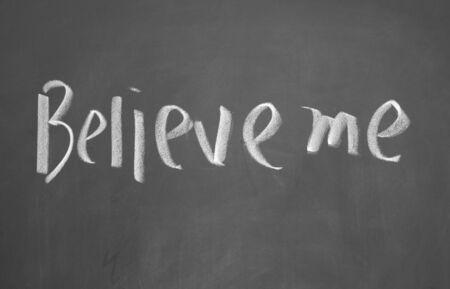 me: believe me title