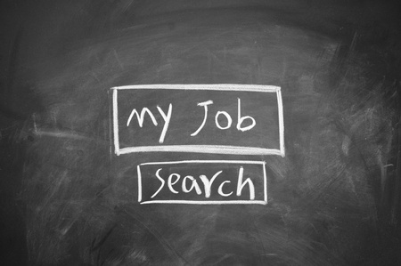 search job symbol Stock Photo - 13011711