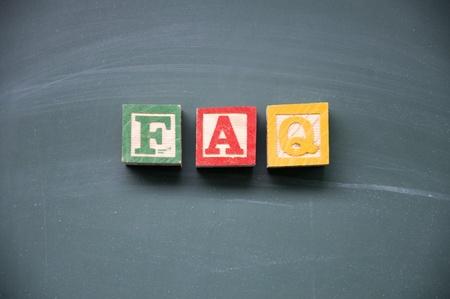 blankness: FAQ title