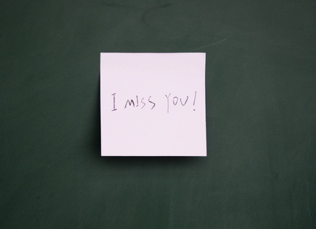 i miss you: i miss you note