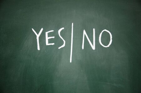 blunder: yes and no symbol