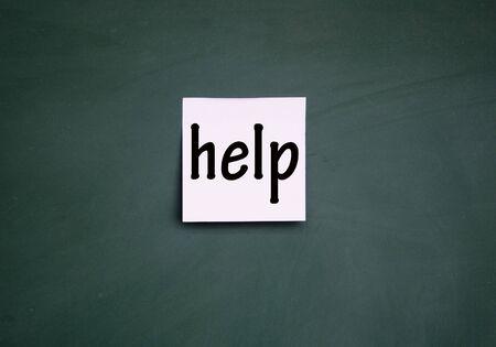 help symbol photo