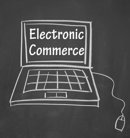 Electronic-commerce symbol Stock Photo - 13679561