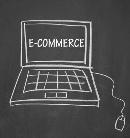 Electronic-commerce symbol photo