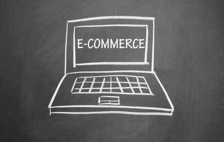 Electronic-commerce symbol photo
