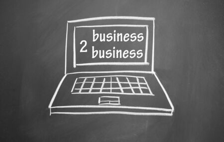 business to business symbol photo
