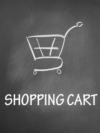 shopping chat  symbol Stock Photo - 13712235