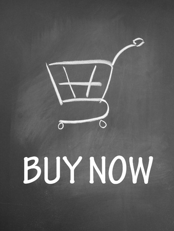 buy now and shopping chat  symbol Stock Photo - 13712201