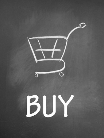 buy and shopping chat  symbol Stock Photo