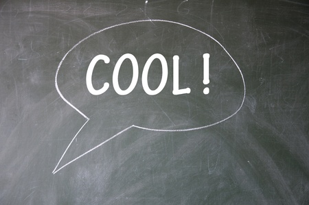 cool chat symbol Stock Photo - 13712255